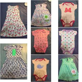 Baby and little girls clothes