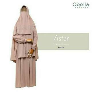 Khimar aster by qeella moslema