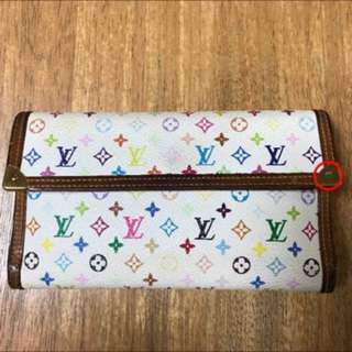 preloved authentic LV wallet