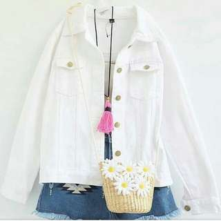 Rx. Jacket Jeans White