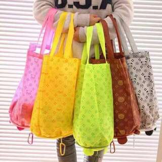 Foldable shopping bag.