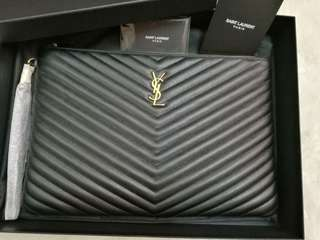 Saint Laurent YSL POUCH Large Brand new