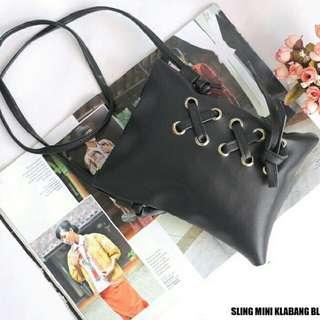 Sling Bag Kelabang Black