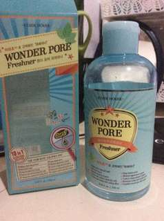Etude House Wonder Pore Freshner/Toner (💯 AUTHENTIC, used)