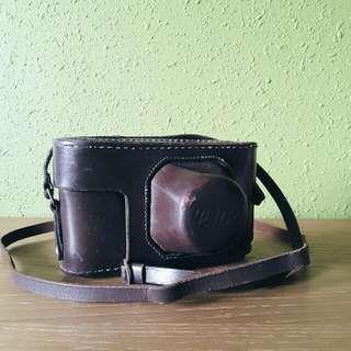 vintage USSR camera leather case for FED-2