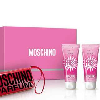 Moschino Pink Fresh Couture 4's Gift Set
