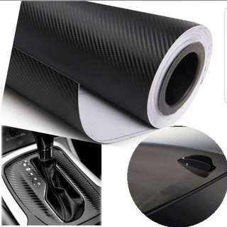 127cmX30cm 3D Car Accessories Motorcycle Carbon Fibre Wrap Sheet/ Roll Film/ Sticker/ Decal Car Styling