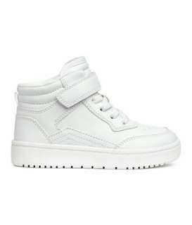 H&M White Shoes for boys