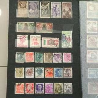 Europe Stamps Album 1
