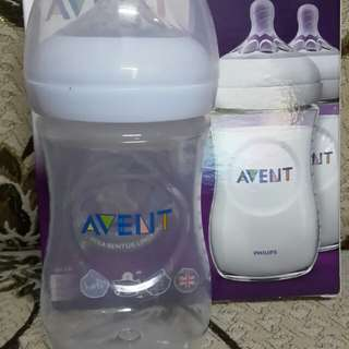 Avent Natural Bottle 9oz Twin Pack