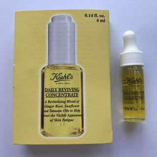 Kiehl's Daily Reviving Concentrate Glass Vial 4ml
