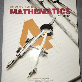 Secondary 4 Mathematics Textbook shinglee 7th Edition