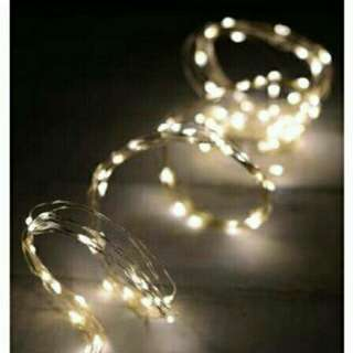 10m LED Fairy Lights (Electricity Powered)