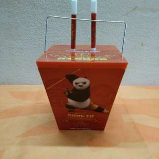 Kungfu Panda 3 Food Container ( TGV 2016 )
