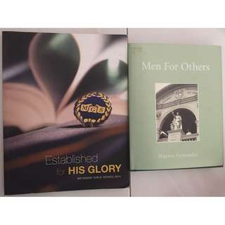 [GIVEAWAY] MGS and SJI books