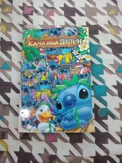 Stitch postcard book