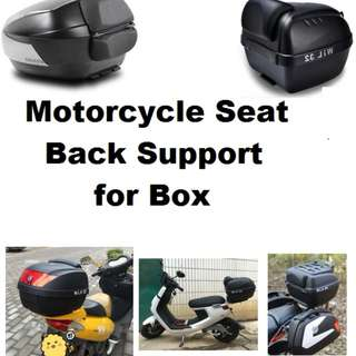 Motorcycle Carbon Foam Back support for Box universal