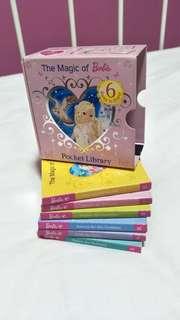 Barbie pocket library books