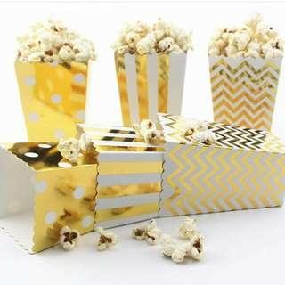 Popcorn Boxes [empty]