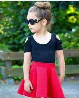 Black and red for kids