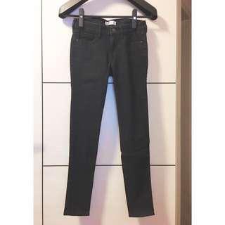 Abercrombie&Fitch x 黑色牛仔長褲