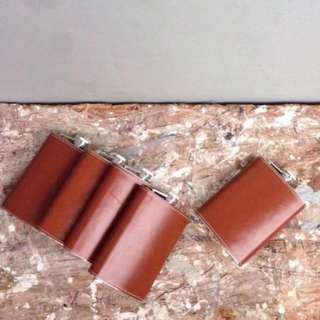 Genuine Leather Flask