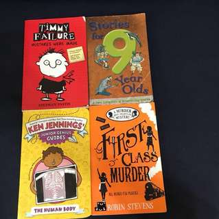 Lot of 4 story books