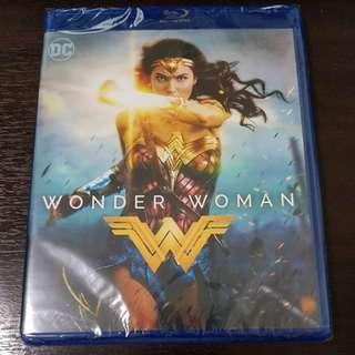 Wonder Woman Bluray and DVD Combo over 2 hours of bonus features
