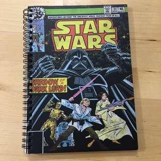 BN Star Wars A5 Spinout Notebook