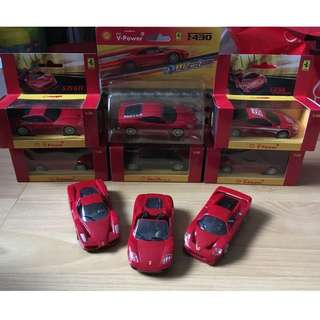 [Bundle Deal] Shell Ferrari Model Cars  #1212YES