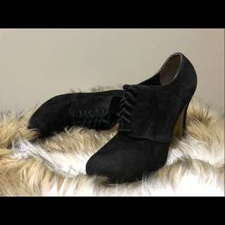 TONY BIANCO Suede Lace Up Boots