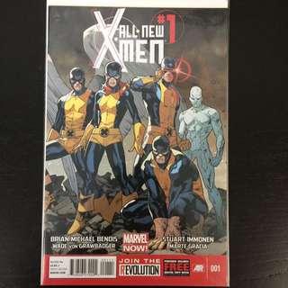 All New X men #1