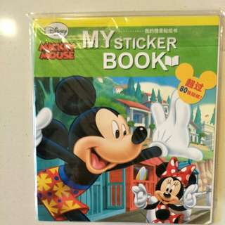 Mickey sticker book. Great for Christmas gift!