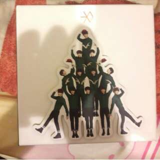 🚚 EXO 12月的奇蹟 十二的奇蹟 中文版 專輯