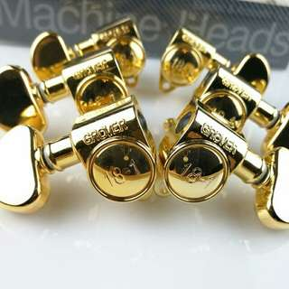 *Preorder* Grover Machineheads Tuning Pegs (Gold)