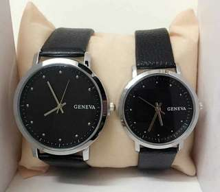 GENEVEA COUPLE WATCH