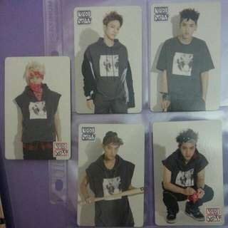 EXO Pop-Up Store Photocard [Chen,Kris,Tao]
