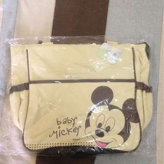 Mickey Mouse Tote Diaper Bag