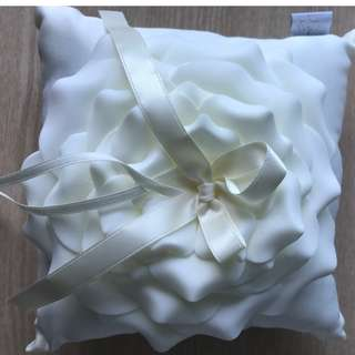 Wedding Ring Pillow Champagne