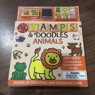 BN Stamps & Doodles Animals
