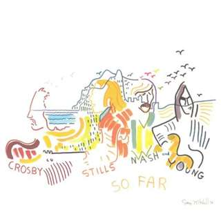 Crosby, Stills, Nash & Young ‎– So Far CD