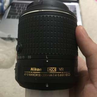 Nikon Lens DX 55-200mm 1:4-5.6