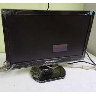 """Philips 160E1 MWE1160T 16"""" LCD Monitor"""