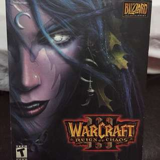 Warcraft 3 and frozen throne pc game