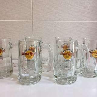 Hard Rock Cafe Beer Glasses