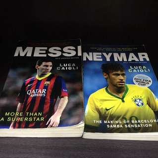 Messi and Neymar biography