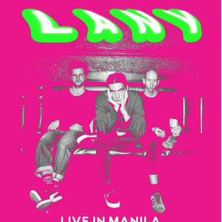 LANY MNL Gen Ad Ticket Day 1