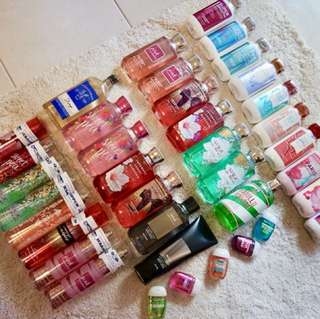 Bath and Body Works Products from the U.S