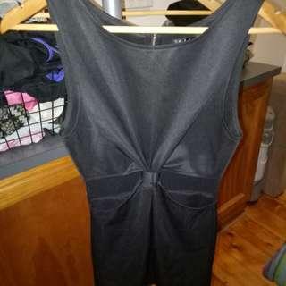 Cut out dress size S