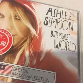 Ashlee Simpson - Bittersweet World CD